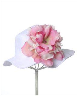 ~ Jamie Rae White Peony Sun Hat *Many Peony Colors!* Baby