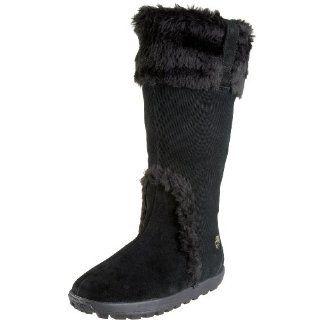 Timberland Womens Mukluk Tall Boot,Black,5.5 W US Shoes