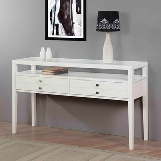 Aristo Gloss White Sofa Table