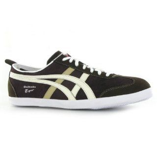 Onitsuka Tiger Mexico 66 Brown White Mens Trainers Shoes