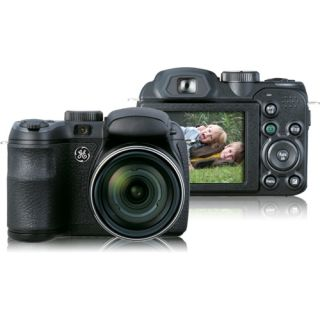 GE X5 Point & Shoot Digital Camera   14.1 Megapixel   2.7 Active Mat
