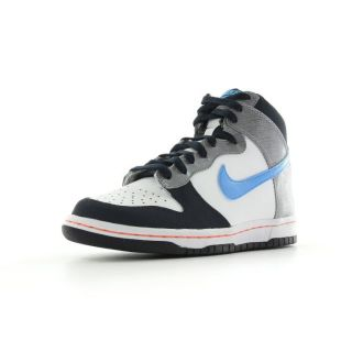 Nike   Dunk high (GS)   taille 36 Bleu, blanc et gris   Achat / Vente