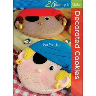 Search Press Books 20 To Make Decorated Cookies by Lisa Slatter
