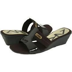 AK Anne Klein Mittsy Dark Brown Sandals
