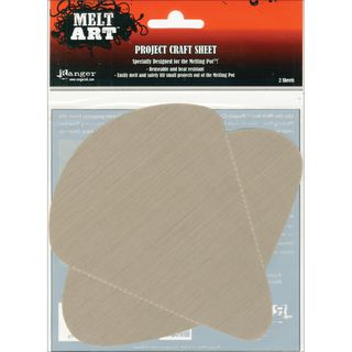 Melt Art Project Craft Sheet 2/Pkg