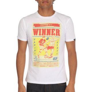 55DSL By DIESEL T Shirt Winners Homme Blanc, jaune et rouge   Achat