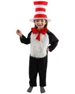 Dr. Seuss Cat in the Hat Toddler/Child Costume Clothing