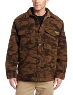 Columbia Mens Gallatin Range Shirt Jacket,BROWN WOOL CAMO