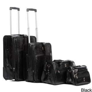 Travel Concepts by Heys Giana Croco 4 piece Luggage Set