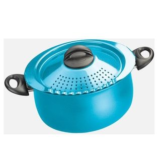 Bialetti Trends Blue 5 quart Pasta Pot