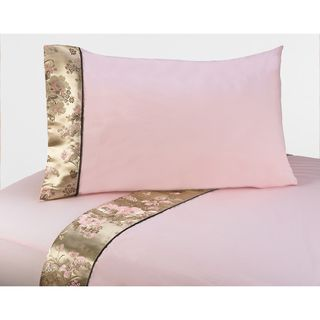 Sweet JoJo Designs Abby Rose Bedding Collection Sheet Set