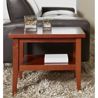 Cherry Solid Wood Side Table