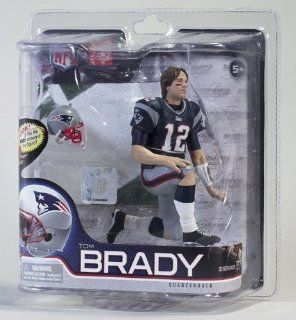 Series 27 Tom Brady 4   New England Patriots 6 Inch Action