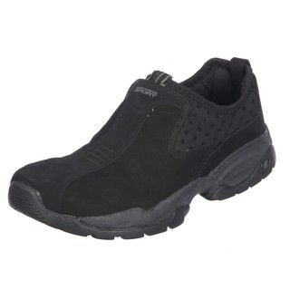 Skechers Sport Mens Direct Suede Slip on Shoes