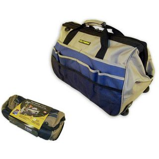 Olympia Tools Rolling 20 inch Wide Mouth Tool Bag