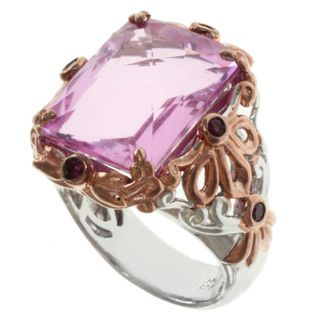 Michael Valitutti/ Dr. Robi Two tone Pink Quartz and Pink Sapphire