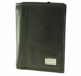 Geoffrey Beene Mens Credit Card Trifold Black Clothing