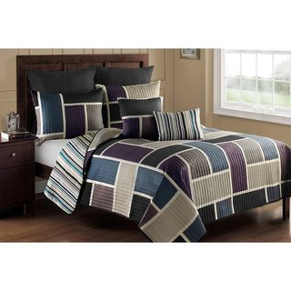 Morgan 7 piece Quilt Set