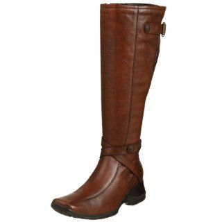 Clarks Womens Mia West Boot,Brown,5.5 M Shoes