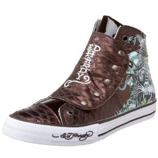 Ed Hardy Mens Melrose High rise Sneaker Shoes