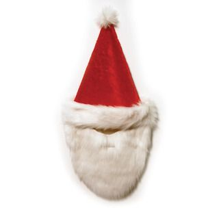 Santa Hat Face Mask