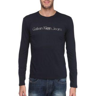 CALVIN KLEIN JEANS T Shirt Homme marine   Achat / Vente T SHIRT CALVIN