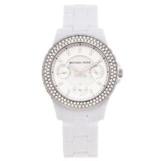 Michael Kors Womens Multi function Glitz Watch