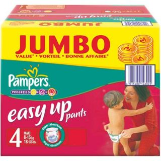 60 blanc   Achat / Vente COUCHE   LANGE PAMPERS Easy Up Jumbo T4 X 60