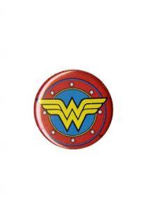 DC Comics Wonder Woman Circle Logo Pin Clothing
