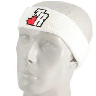 NBA adidas Toronto Raptors White Team Logo Headband