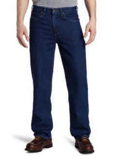 Carhartt Mens Traditional Fit Straight Leg Jean Clothing