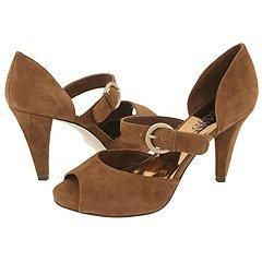 Franco Sarto Album Nut Suede Pumps/Heels