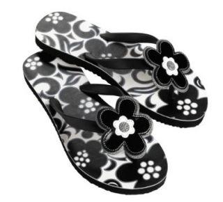 Vera Bradley Printed Flip Flop Night & Day   Medium Shoes
