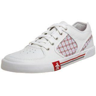 com Original Penguin Mens Ernie Lace Hybrid Lace,White,7 M US Shoes
