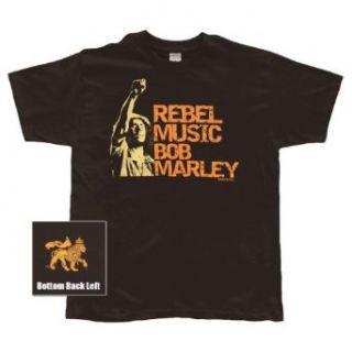 Bob Marley   Rebel Music T Shirt Clothing