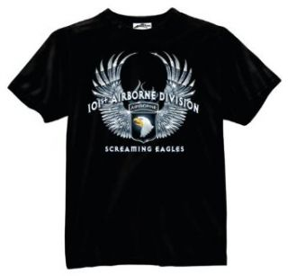 101st Airborne Division Screaming Eagles T Shirt Clothing