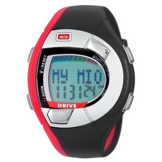 Mio Unisex 0018USRED2 Heart Rate Monitor Red Sport Watch