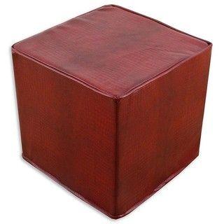 Tinga Rojo Cube Foam Ottoman
