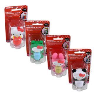 Flipper Hello Kitty Toothbrush Holders (Pack of 2)