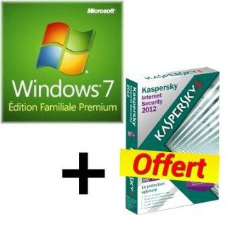 SYSTÈME DEXPLOITATION MS W7 Premium OEM 64 bits