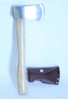 New Throwing Tomahawk Axe Hatchet Steel Blade w/ Sheath