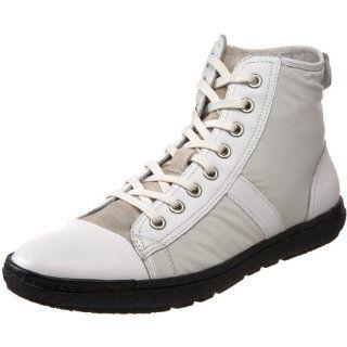 Steve Madden Mens Landslyd Sneaker,White Fabric,7 M US Shoes