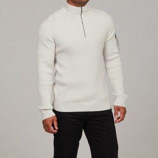 Calvin Klein Jeans Mens 1/4 length Zipper Sweater FINAL SALE