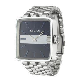 Nixon Mens The Sultan Stainless Steel Quartz Watch