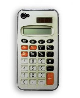 Retro Calculator iPhone Case by Zero Gravity Clothing