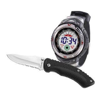Humvee HMV DWKC Combo Digital Watch and Knife Set (Piece