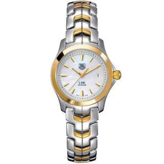 Tag Heuer Womens Two tone Link Quartz Watch