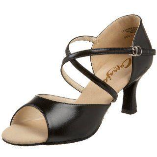 Capezio Womens SD01 Eva 2 Flared Heel Shoe Shoes