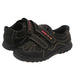 Pablosky Kids 757114 Black Leather Athletic Shoes   Size 13 Y