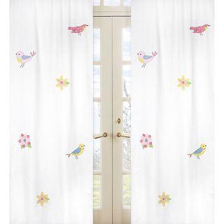 Sweet Jojo Designs Song Bird 84 inch Curtain Panels (Set of 2